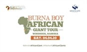 Burna Boy, African Giant Tour Windhoek, Namibia